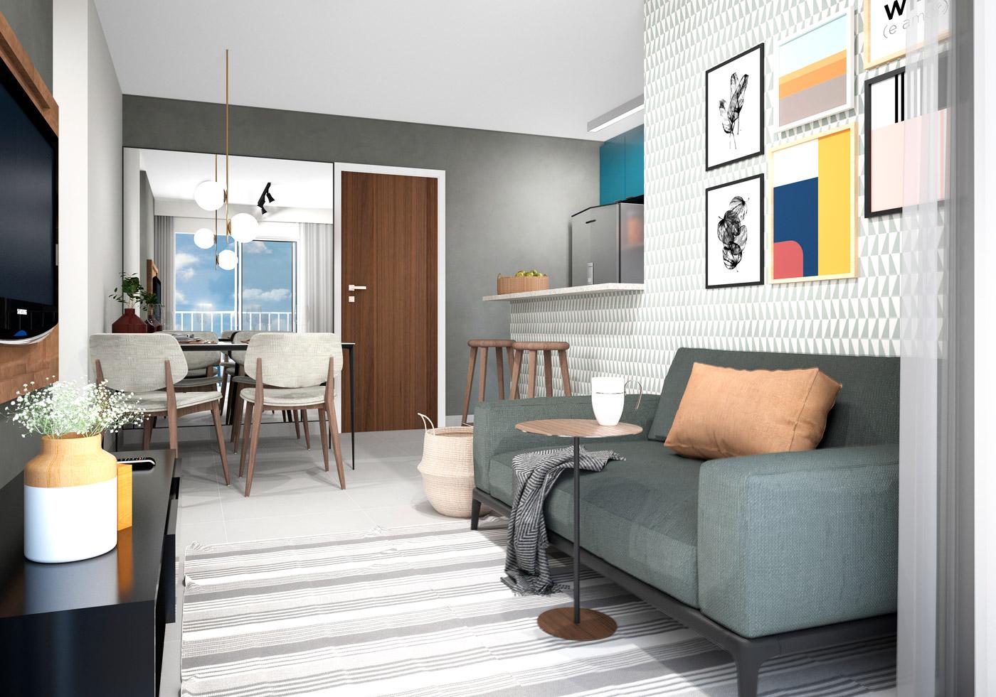 quarto apartamento 2 - bom pastor 360
